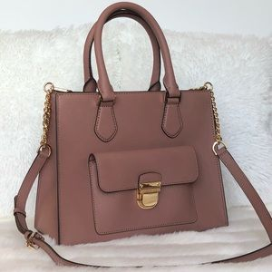 🌟Michael Kors Dusty Pink Medium Leather Satchel🌟